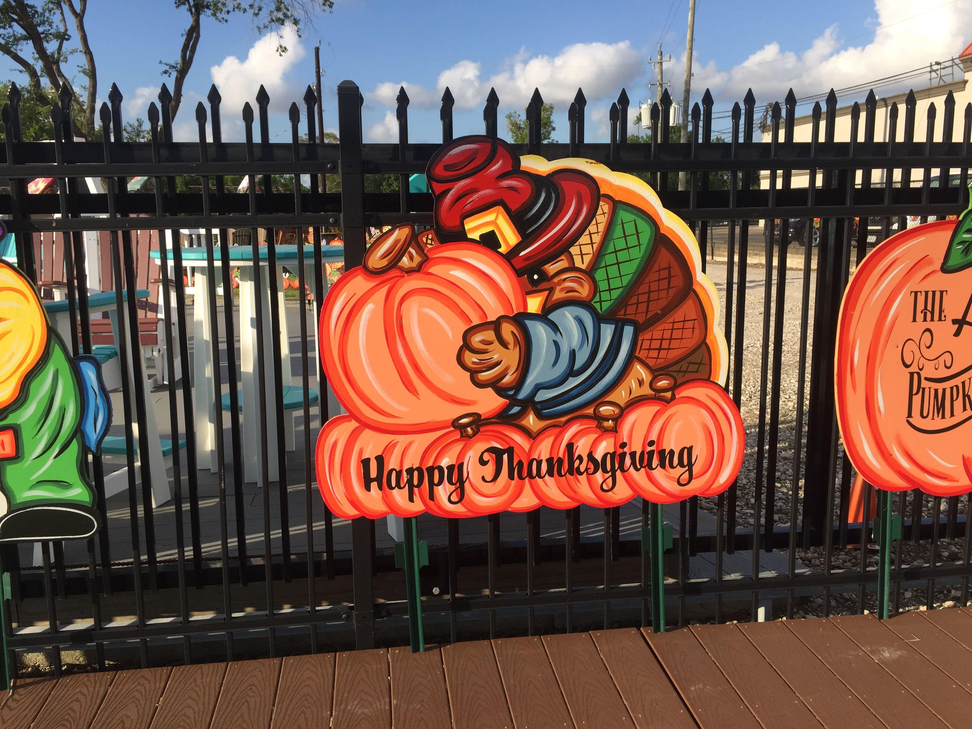Thanksgiving 2020 Yard Decor Ideas Created By Yardartrus Com In 2020 Yard Art Outdoor Thanksgiving Yard Decor
