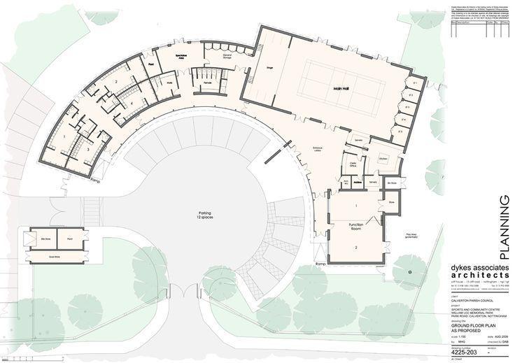 Community Center Floor Plan Design Google Search School Building Design Floor Plan Design School Floor Plan