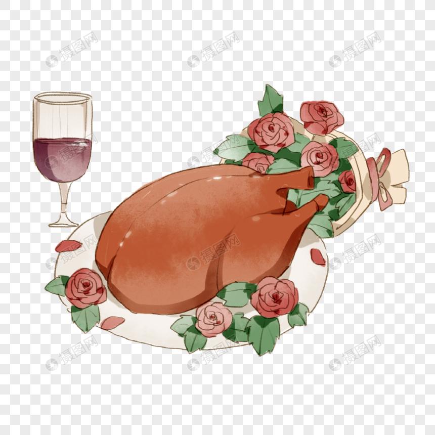 Turkey Dinner Web App Design Template Design Christmas Poster
