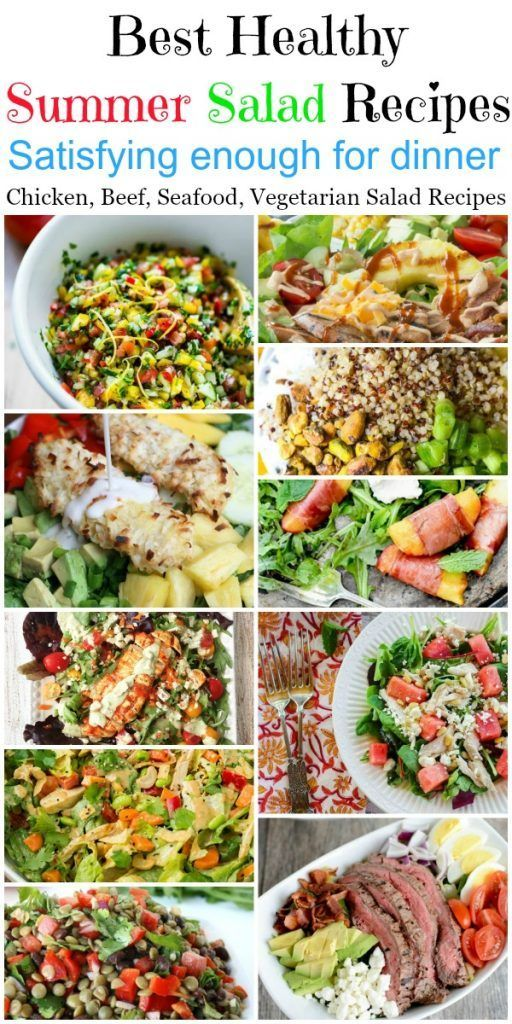 Best 20 Healthy Dinner Summer Salads Healthy Recipes Super