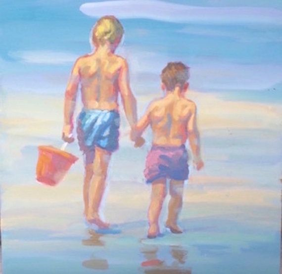 0c566ff3c91 LIKE BROTHERS 11 canvas giclee in multiple sizes