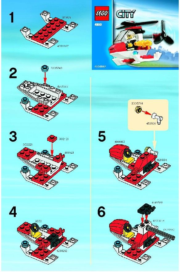 Nice Lego City Police Helicopter Instructions Hd Lego Fire