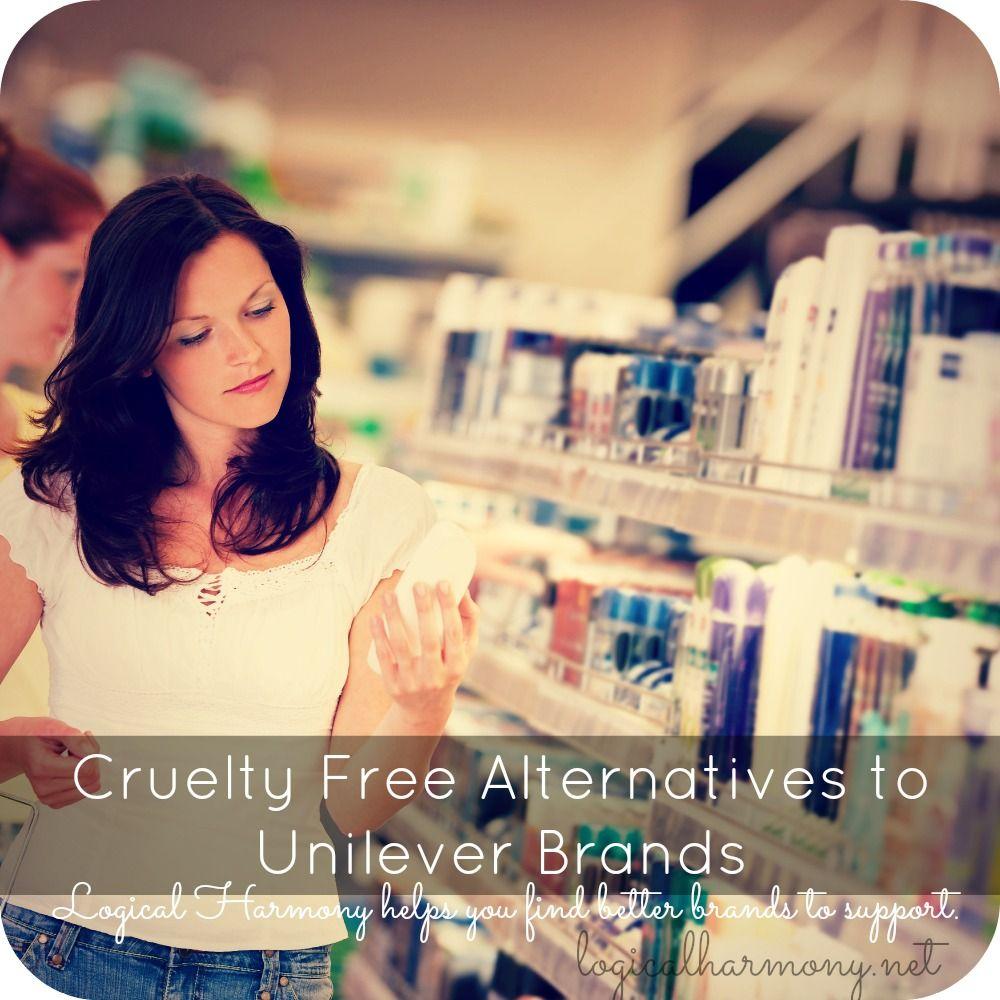 Cruelty Free Alternatives to Unilever Brands Cruelty