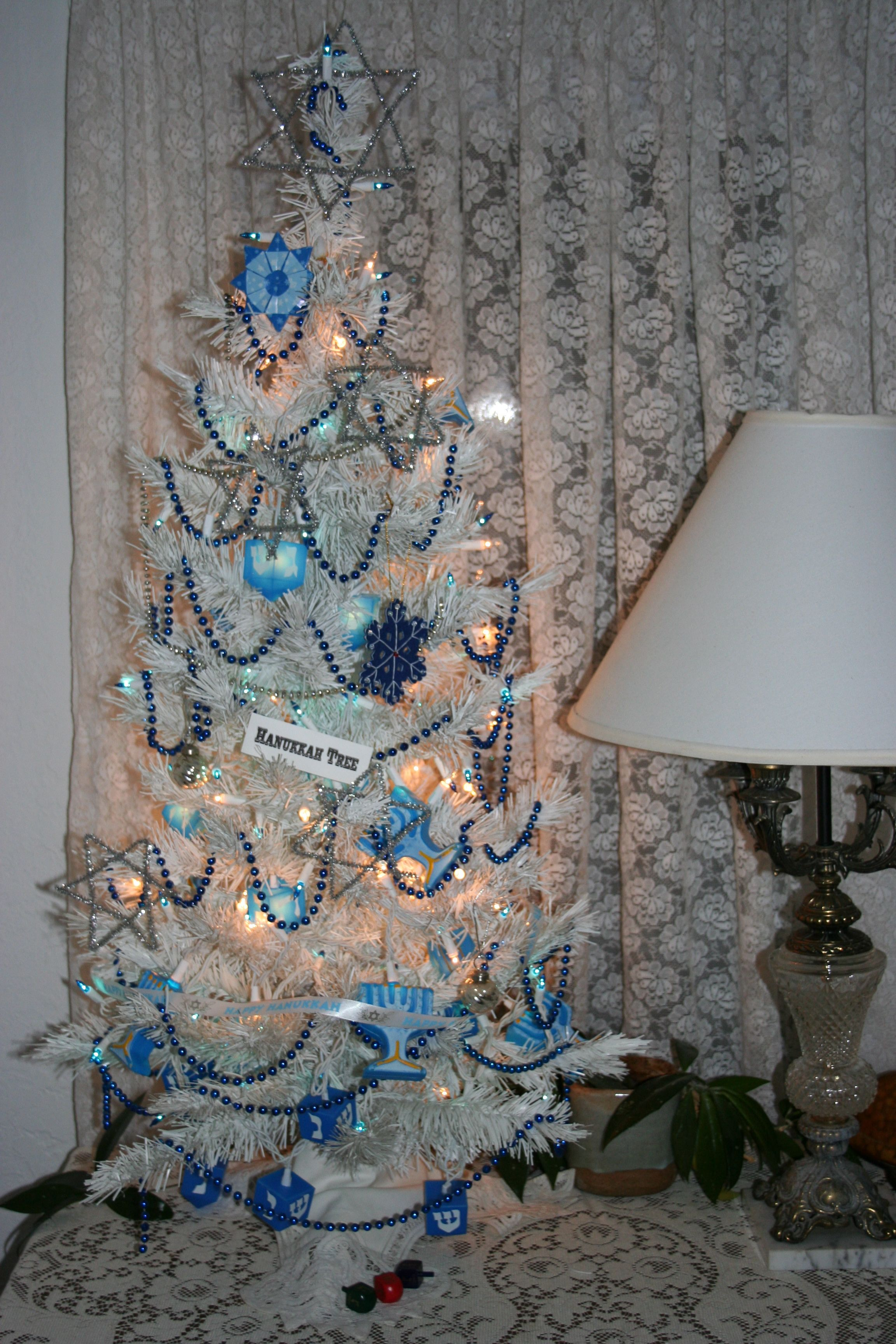 Hanukkah Tree Christmas Crazy Hanukkah Decorations