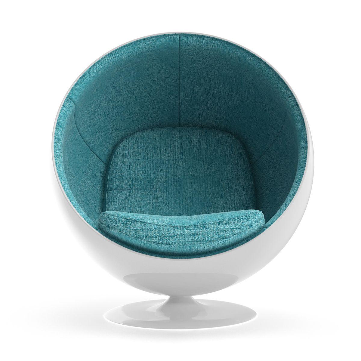 Eero aarnio ball chair ball chair bubble chair blue