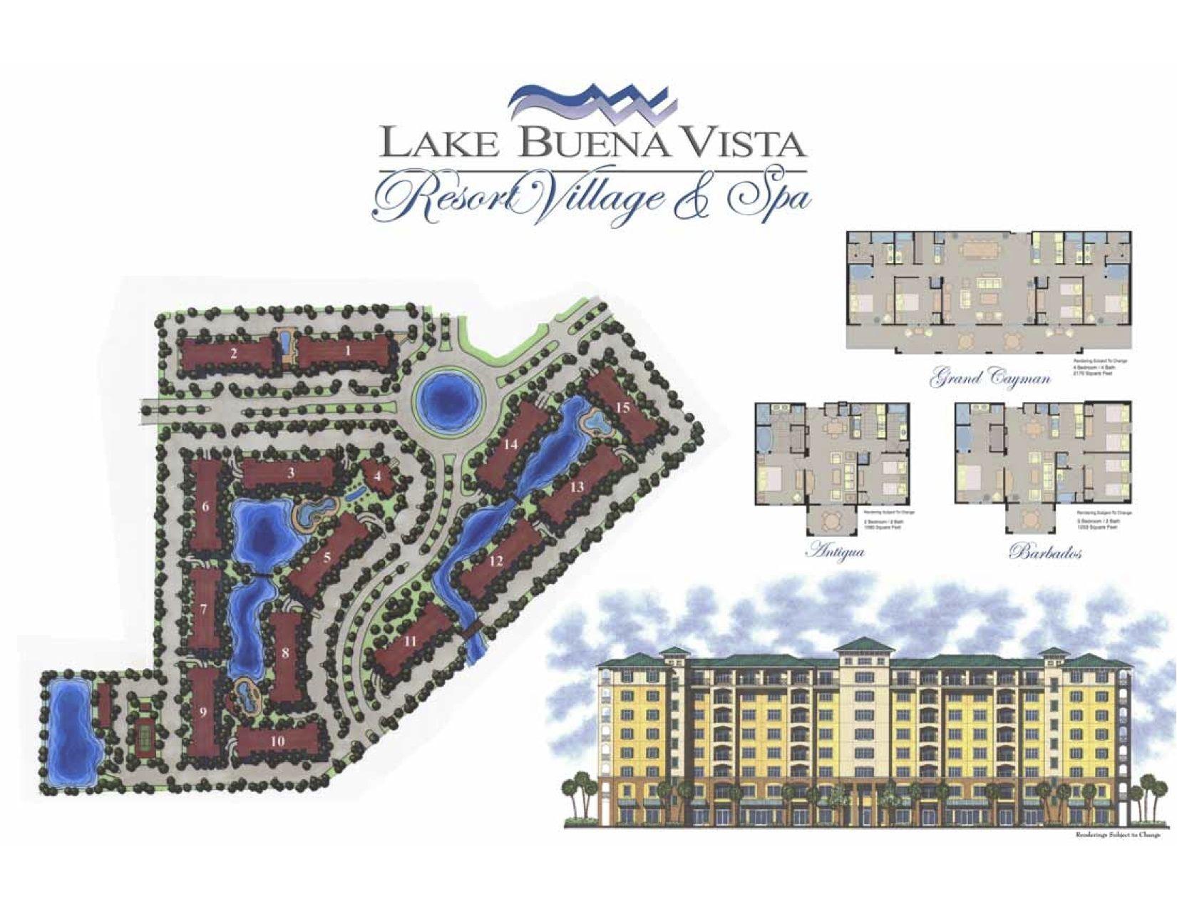lake buena vista resort map Lake Buena Vista Resort Site Map Lake Buena Vista Resort Lake lake buena vista resort map