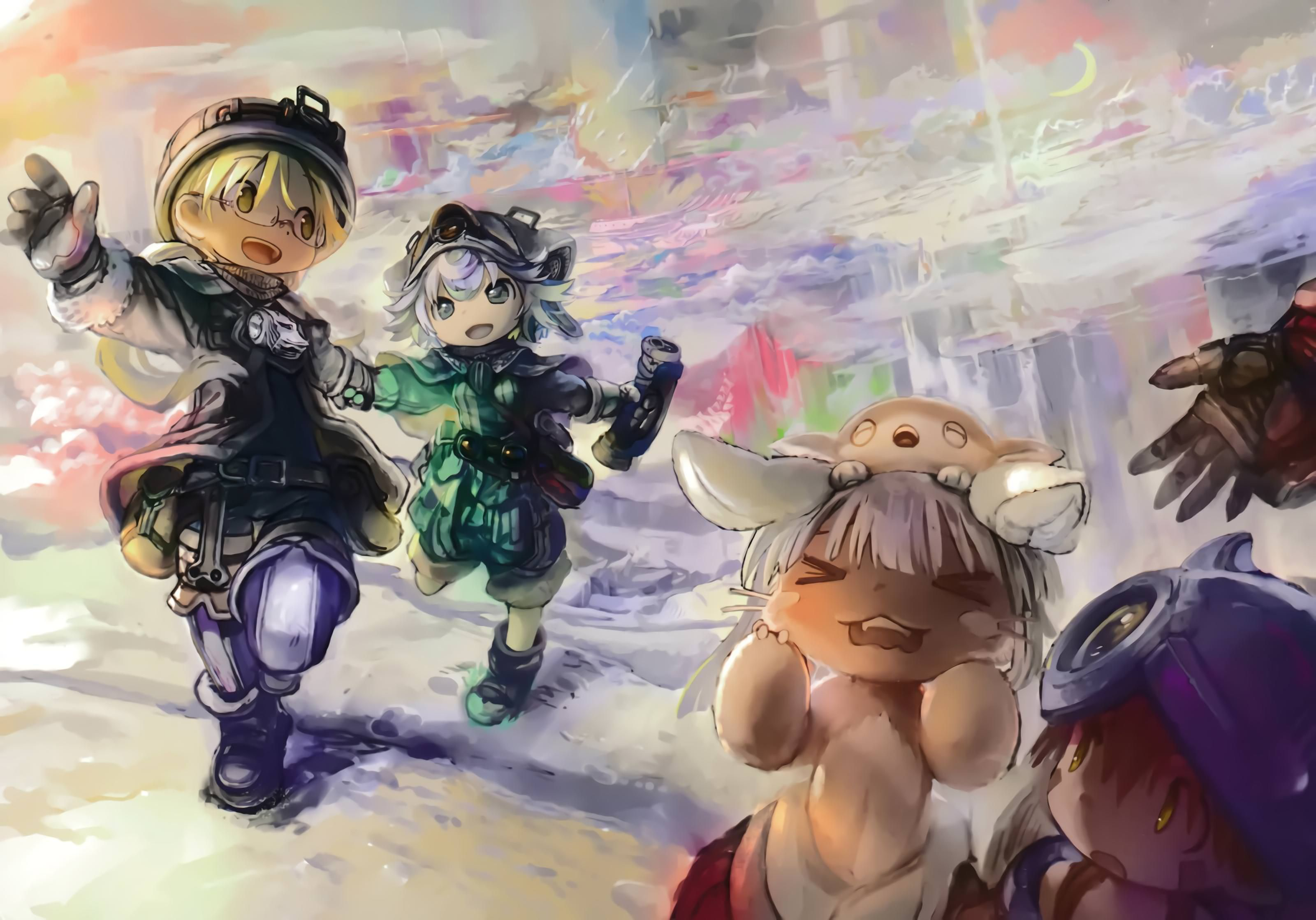 Made In Abyss Wallpapers Covers Volume 1 6 Anime Kawaii Anime Anime Images