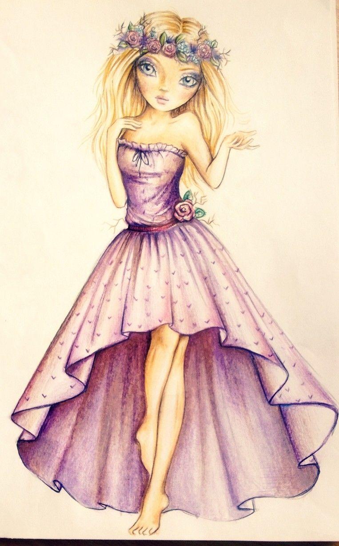 L gant coloriage deguisement fille de 9 ans top model - Apprendre a dessiner violetta ...