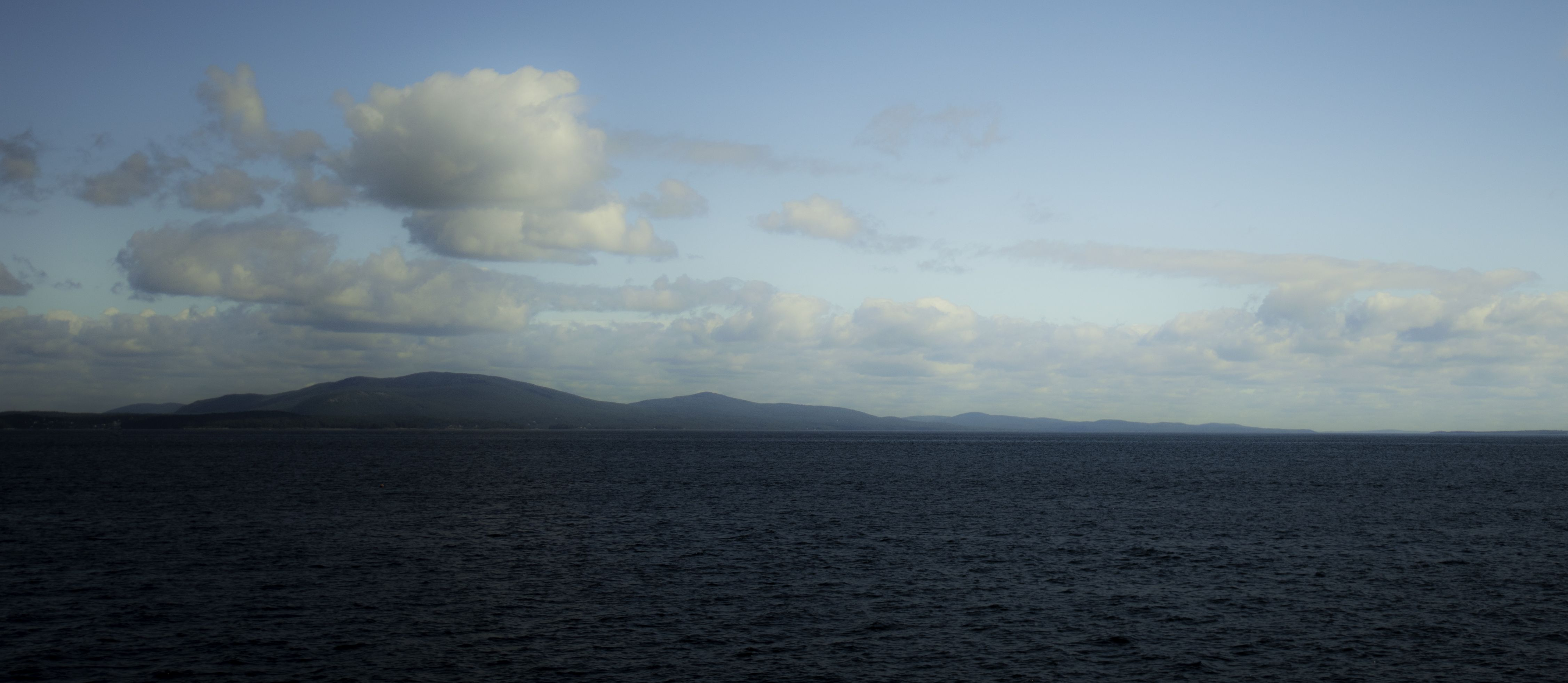 on the ferry to Vinalhaven