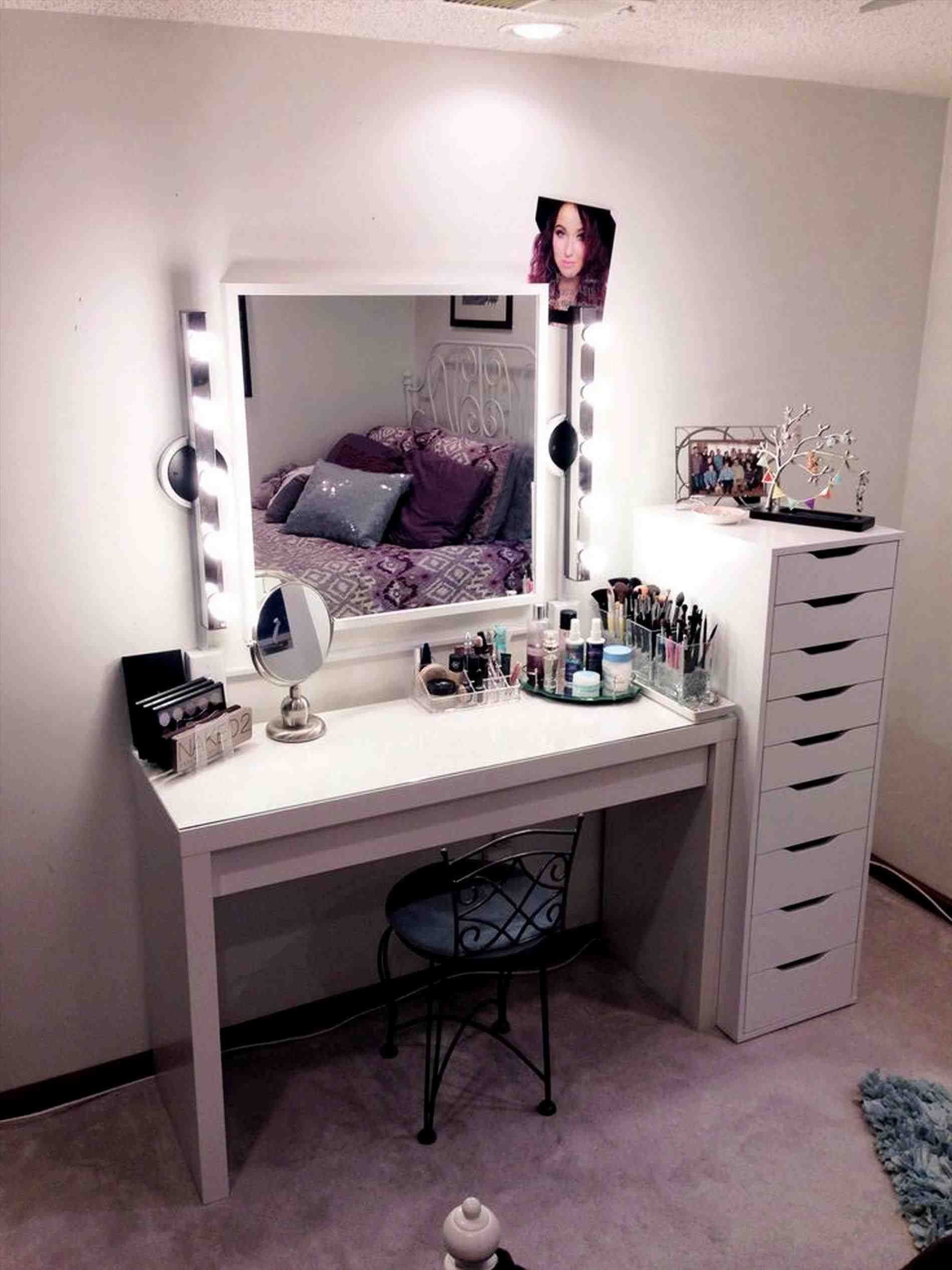 This Black Vanity Table With Lighted Mirror Wholesale Bathroom