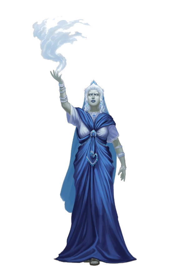Female Cloud Giant Queen Sorcerer - Pathfinder PFRPG DND D&D d20 ...