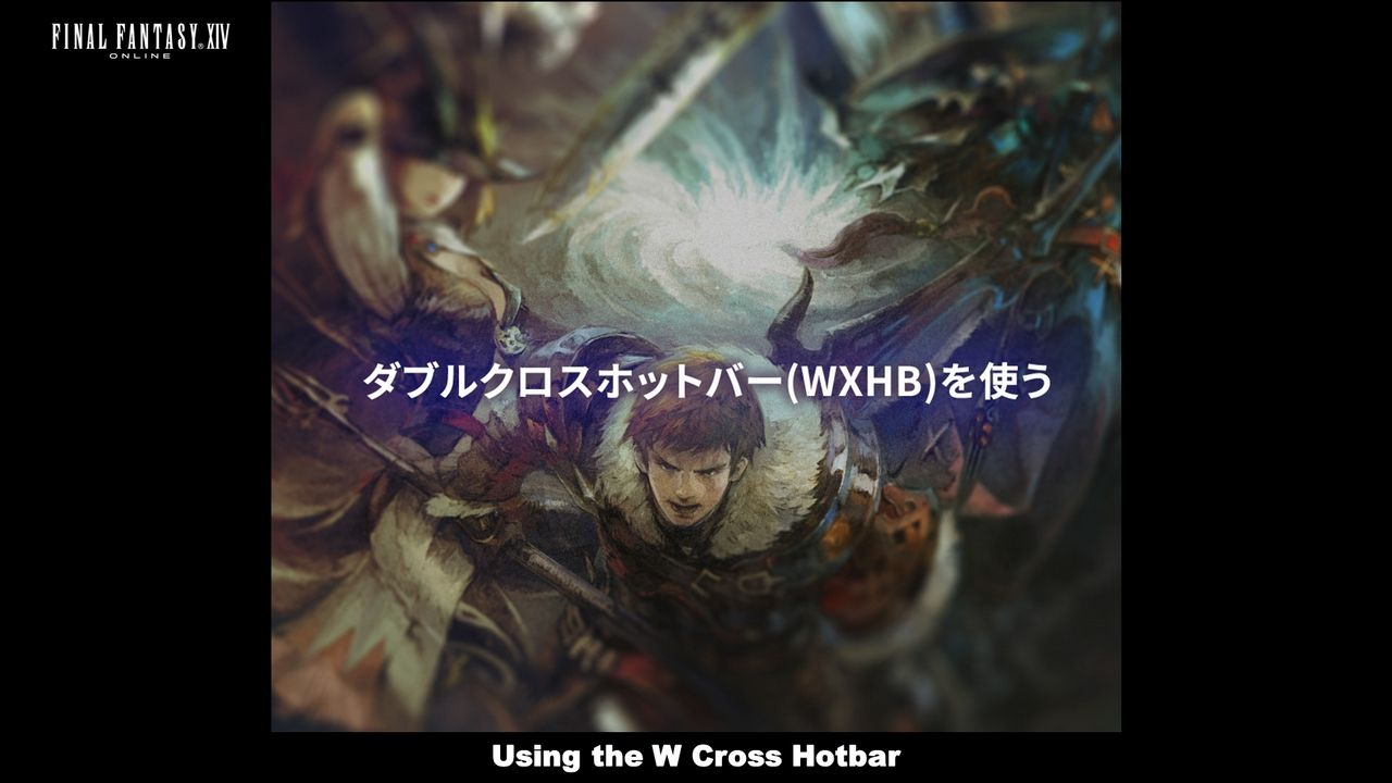 Using the W Cross Hotbar | Final Fantasy VIX Gil | Final