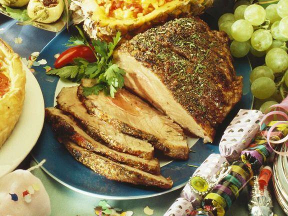 Kräuterbraten ist ein Rezept mit frischen Zutaten aus der Kategorie Schwein. Probieren Sie dieses und weitere Rezepte von EAT SMARTER!