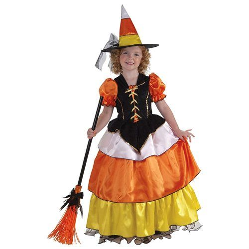 Girls Candy Corn Princess Costume - Girls Halloween Costumes Fall - halloween costumes for girls ideas