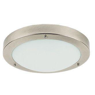 Portal Portal Gls Bathroom Ceiling Light Brushed Chrome E27 60W Awesome Bathroom Ceiling Light Decorating Design