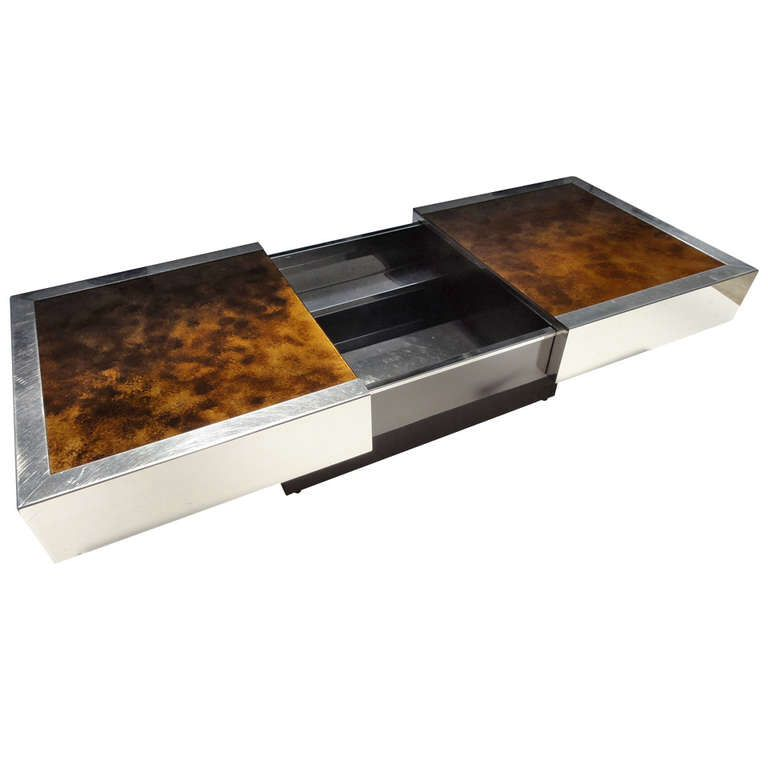 Rizzo Slide Open Refrigerated Coffee Table