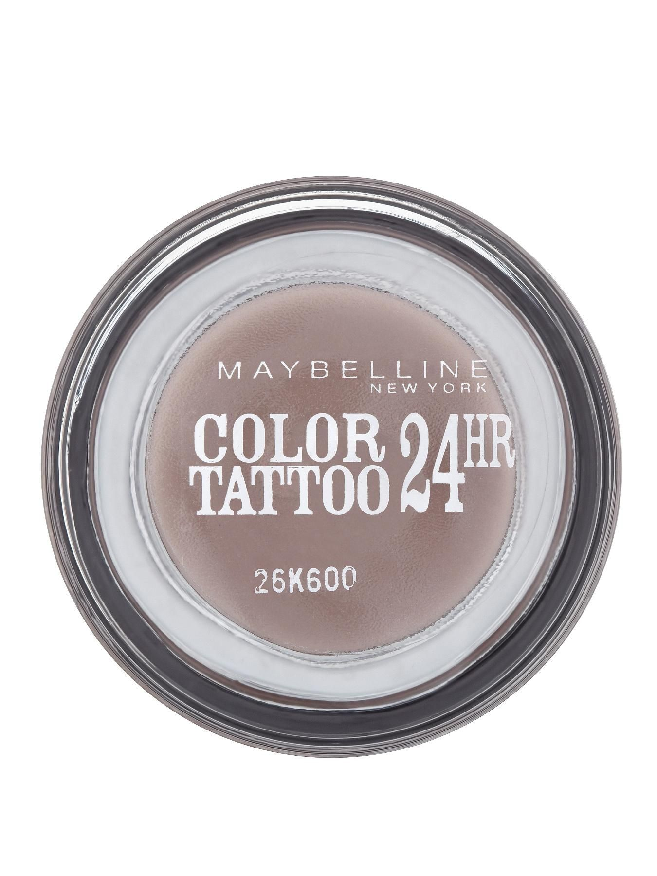 Maybelline Color Tattoo 24 Hour 40 Permanent Taupegel Cream Eyeshadowour Maybelline Color Tattoo Color Tattoo Eyeshadow Maybelline Color