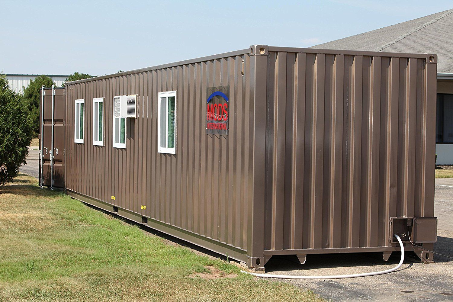 Amazon Officially Sells Everything Including A 36k Shipping Container House Buy A Tiny House Container House Plans Container House