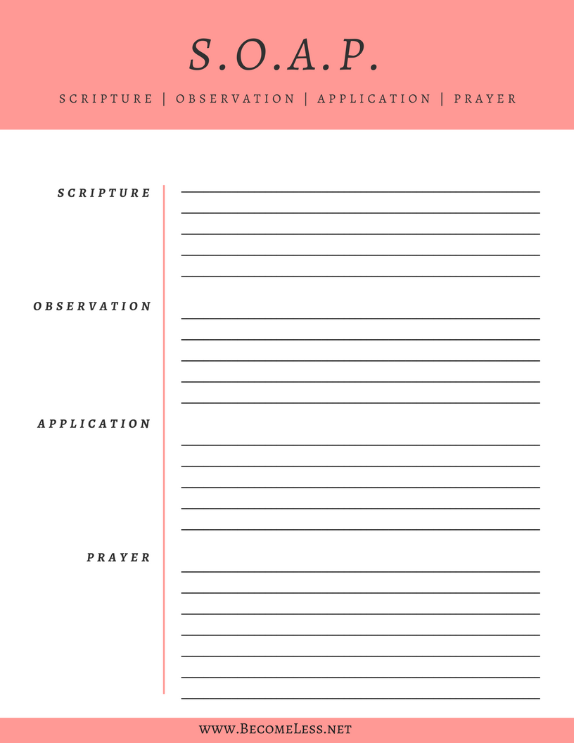 worksheet Bible Study Worksheets For Youth soap bible study method with an example from acts free printable click pin to download learn how to