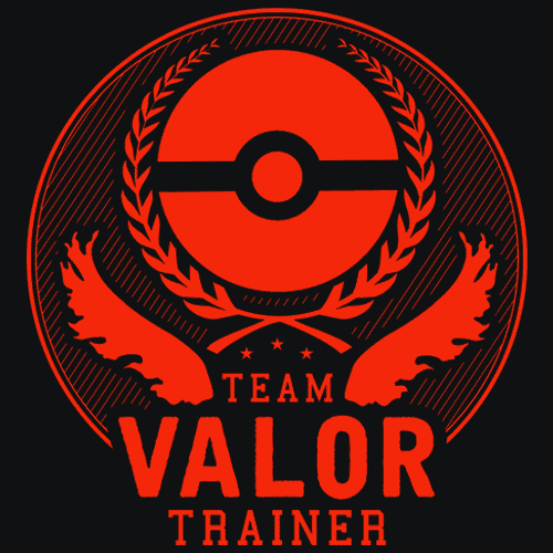 81fac5af Team Valor T-Shirt - Pokemon Go Show off your love for Pokemon Go and Team  Valor with an amazing screen printed t-shirt. Also available is Mystic and  ...