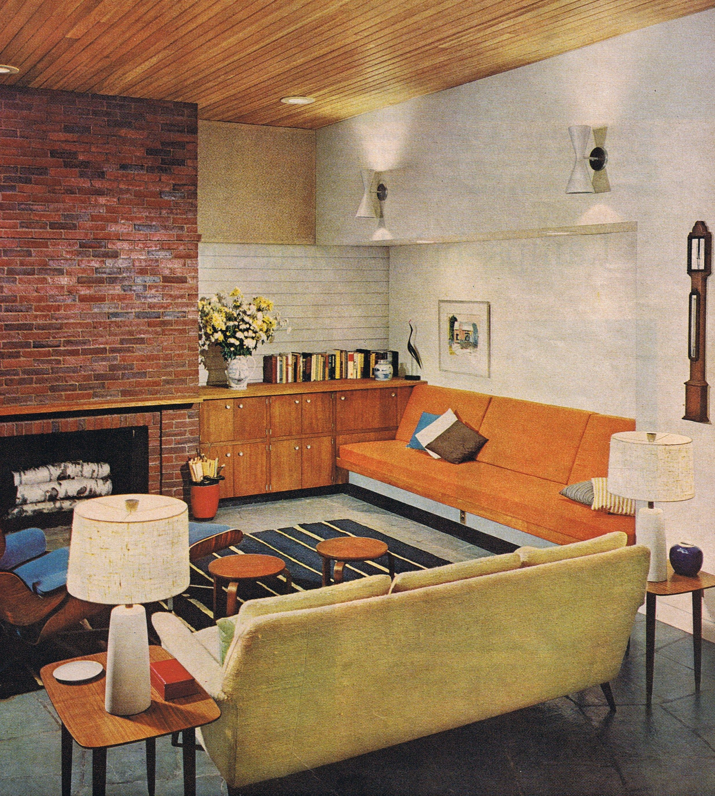 better homes and gardens interior designer. Better Homes  Garden 1962 Love The Rug Pretty Much All Of It But