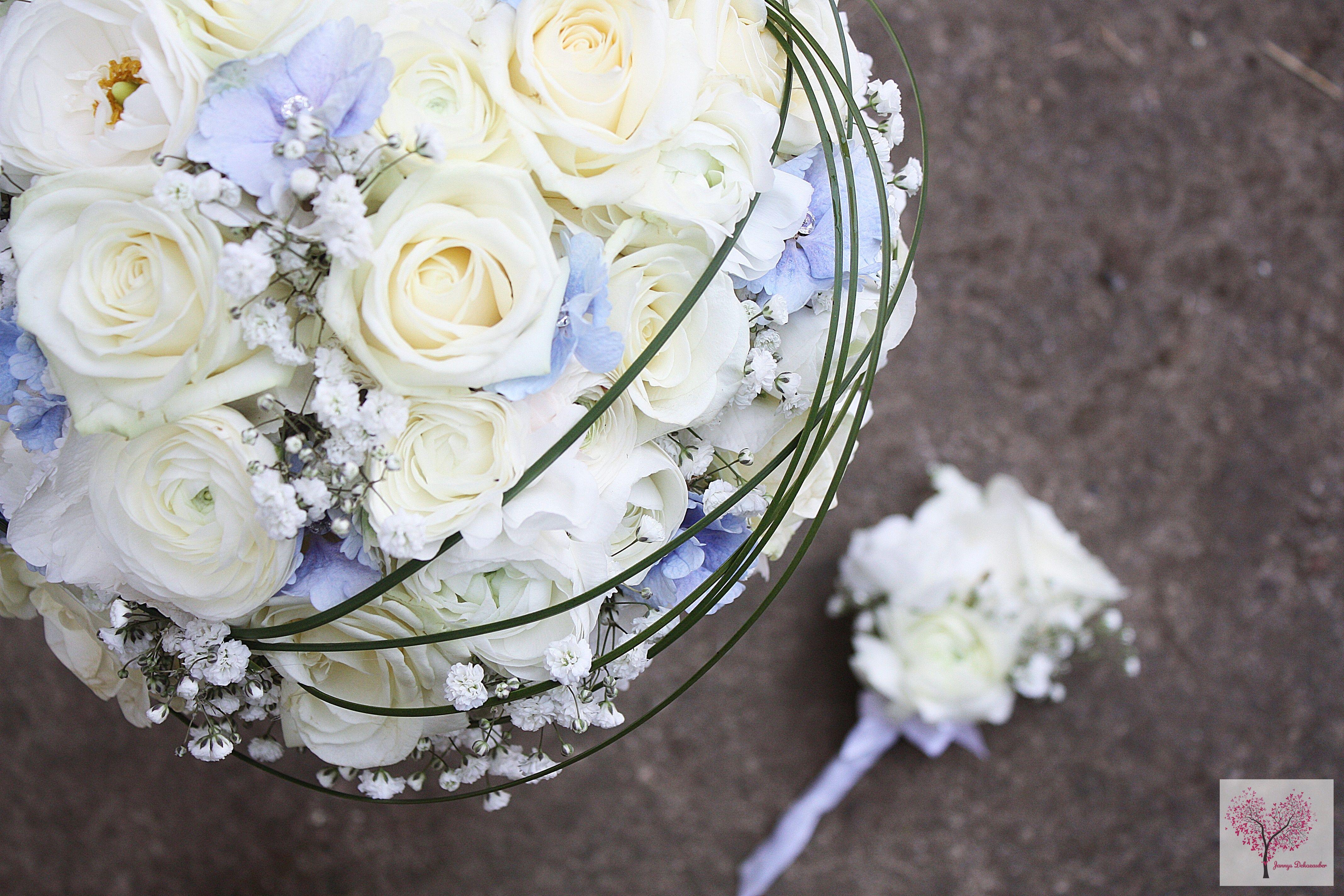 brautstrau maritim blau hortensien rosen gr ser anstecker. Black Bedroom Furniture Sets. Home Design Ideas
