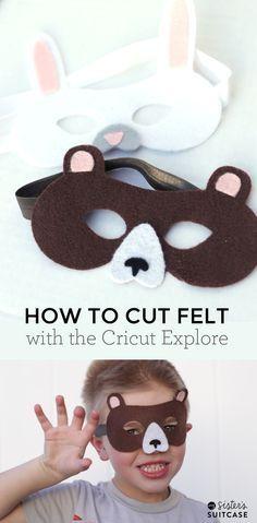 How To Cut Felt With your Cricut Explore machine! #CricutEverywhere