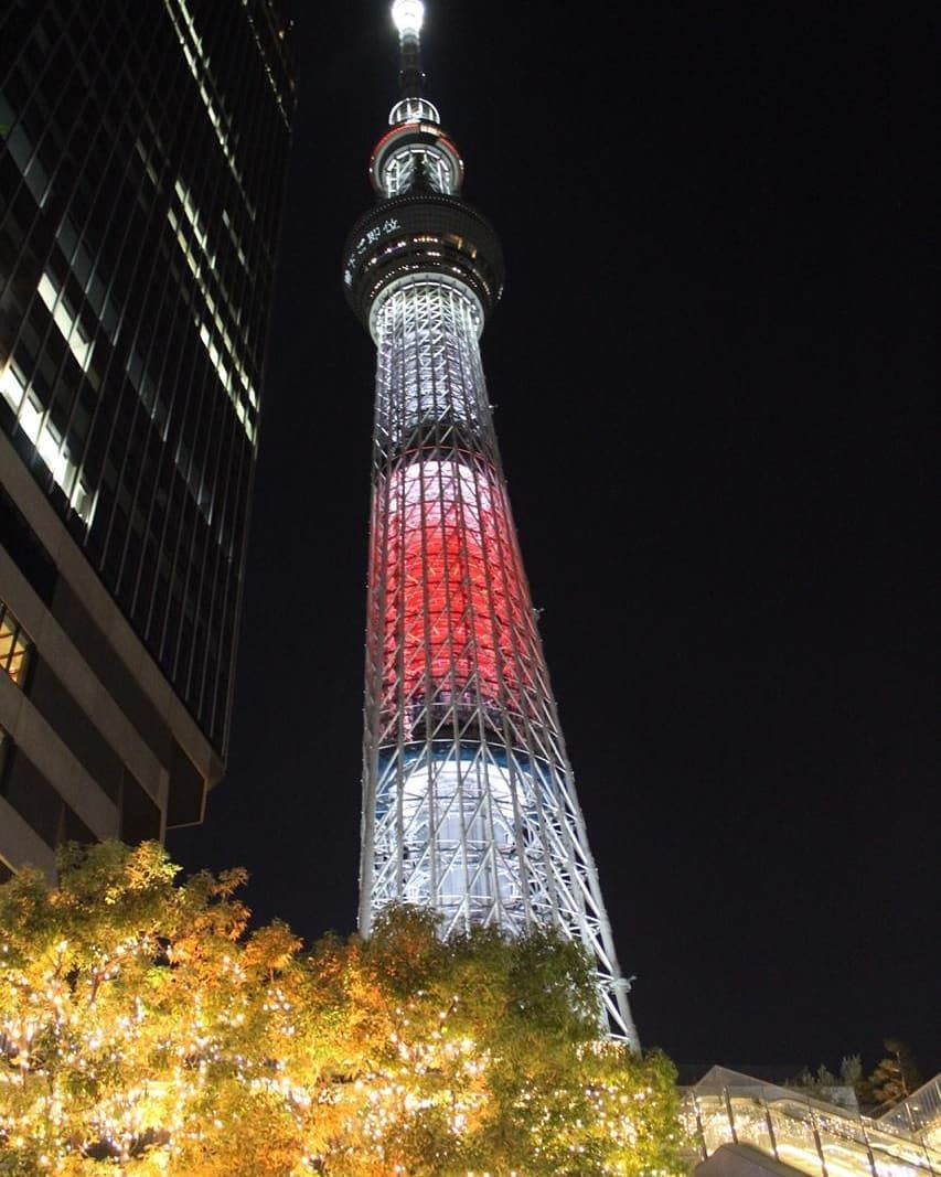 Skytree ready for Christmas Its a wonderful Tokyo rya aruvawisata