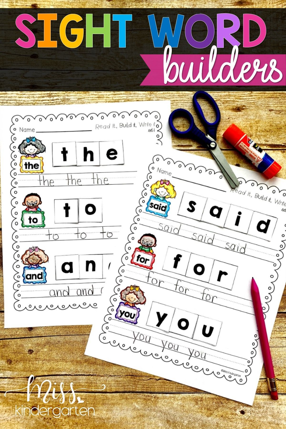 Pin On Sight Word Practice