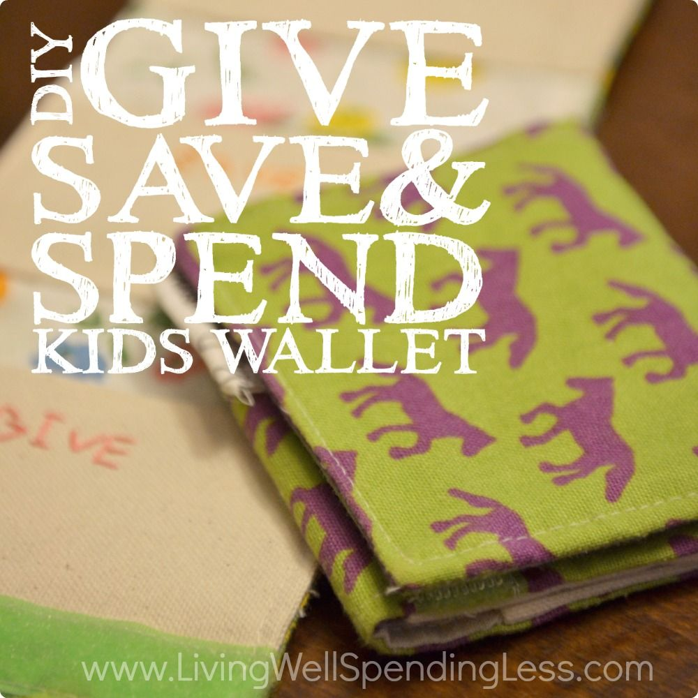 Diy give save spend kids wallet wallet tutorial tutorials and diy give save spend kids wallet jeuxipadfo Image collections