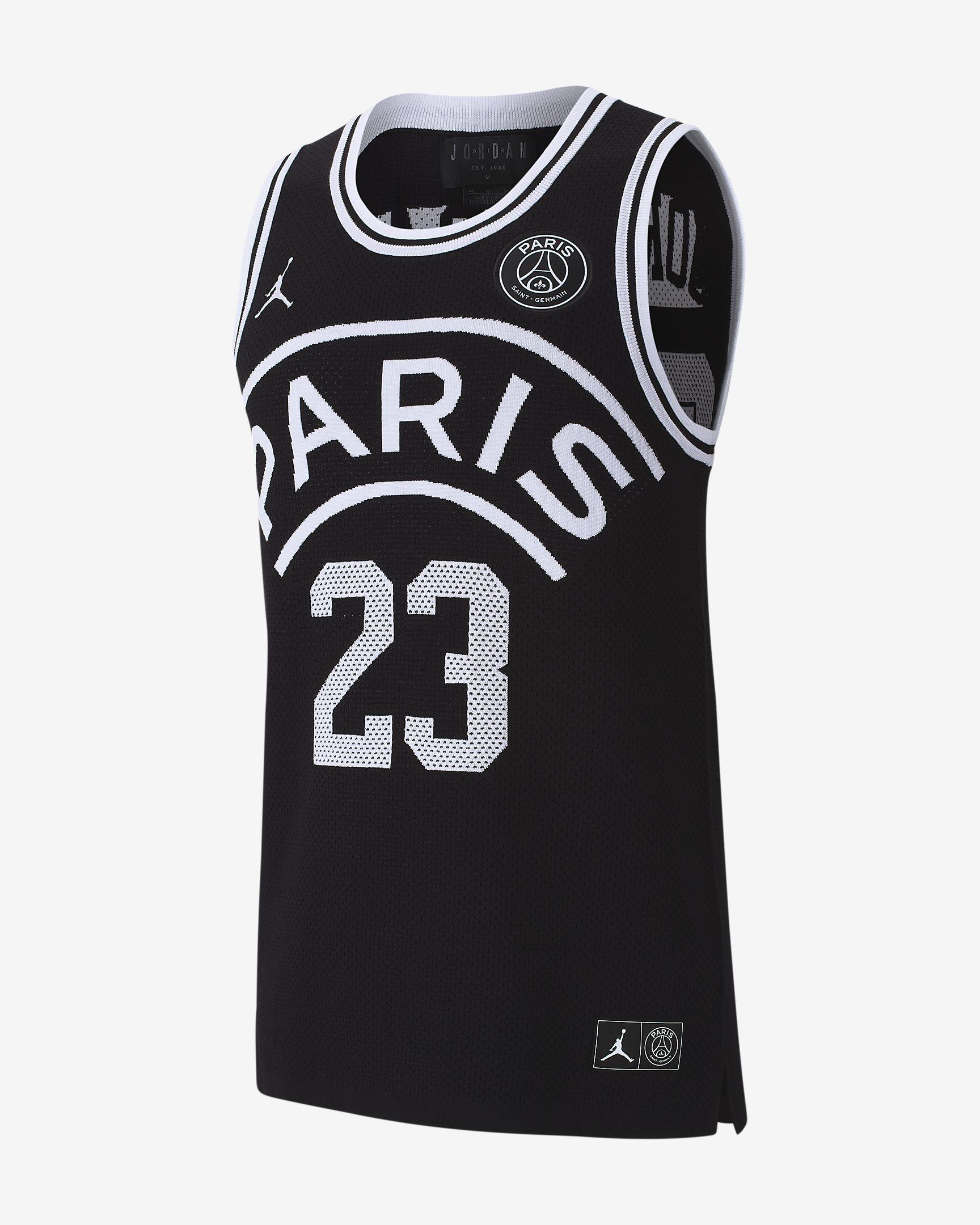 Tank Top NBA Basketball Paris Saint Germain New Jersey Michael Jordan Top S//M//L//