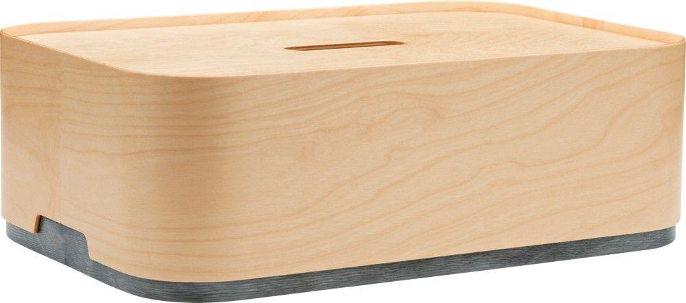 Iittala Vakka Box 450 X 150 X 300 Mm Plywood Grey Iittala Com Plywood Box Bins