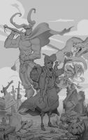 Sigurd Sketch by NorseChowder