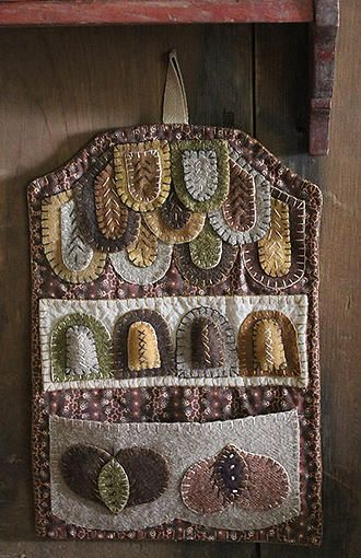 Hanging Wooly Sewing Caddy