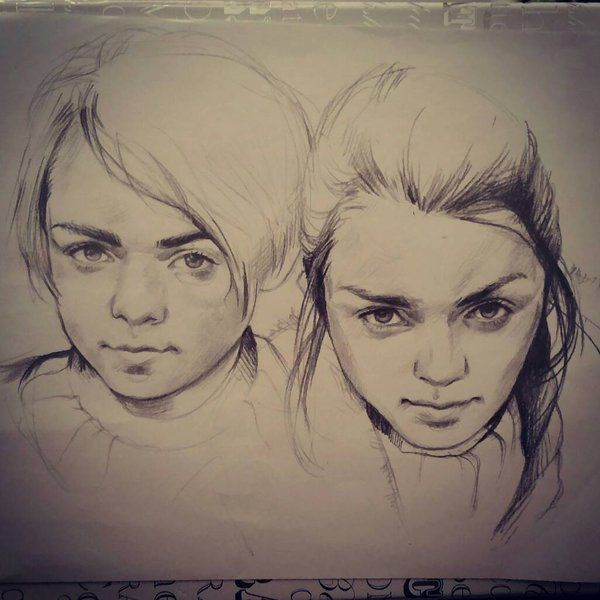 New sketch.. this time one of the characters from the Game Of Thrones.