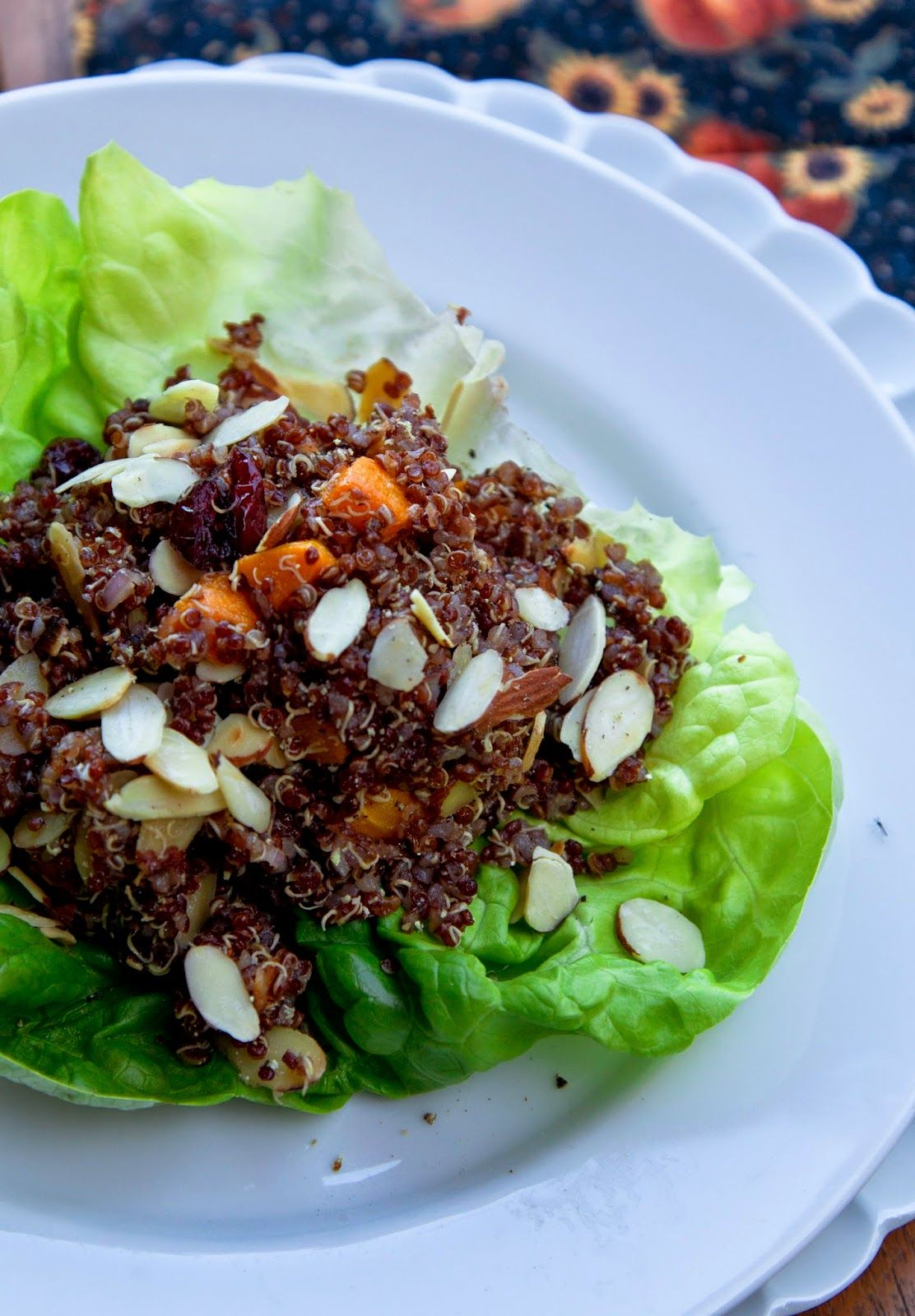 A Cook's Memoir - Inspired recipes from our travels to many exotic lands: Nutty-Tasting Red Quinoa Salad With Roasted Butter...