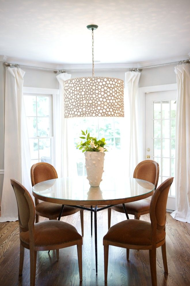 Heather Garrett  Eclectic  Dining Room  Raleigh  Heather Inspiration Hanging Dining Room Lights Review