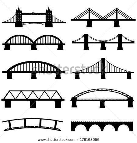 Gate Clip Art Free Vector Bridge Icon Icon Set Vector Icon Set