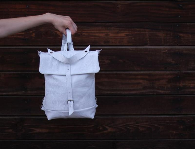Универсальный трансформер рюкзак, ручная работа, кожа