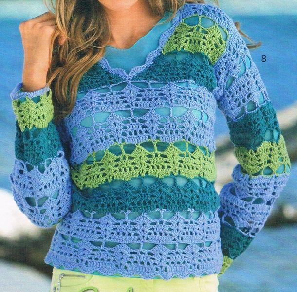 Vendelino designer crochet sweater (http://en.dawanda.com/product ...