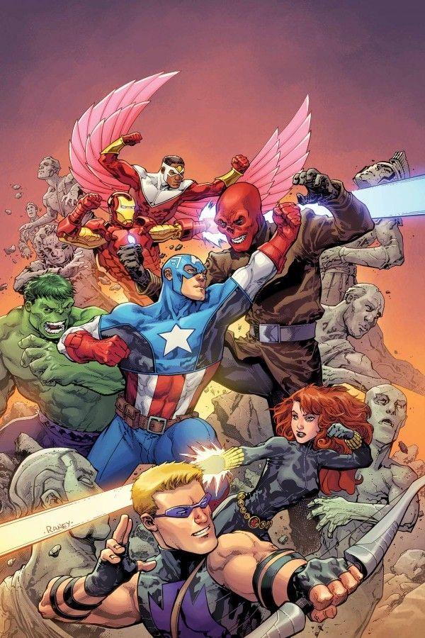 #Avengers #Fan #Art. (Avengers Vs. Vol.1 #1 Variant Cover) By: Tom Raney. (THE * 5 * STÅR * ÅWARD * OF: * AW YEAH, IT'S MAJOR ÅWESOMENESS!!!™)[THANK U 4 PINNING!!!<·><]<©>ÅÅÅ+(OB4E)