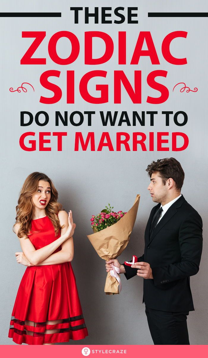 These 4 Zodiac Signs Do Not Want To Get Married