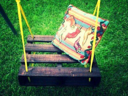 DIY Schaukel aus Europaletten - 25 märchenhafte Ideen für Sie