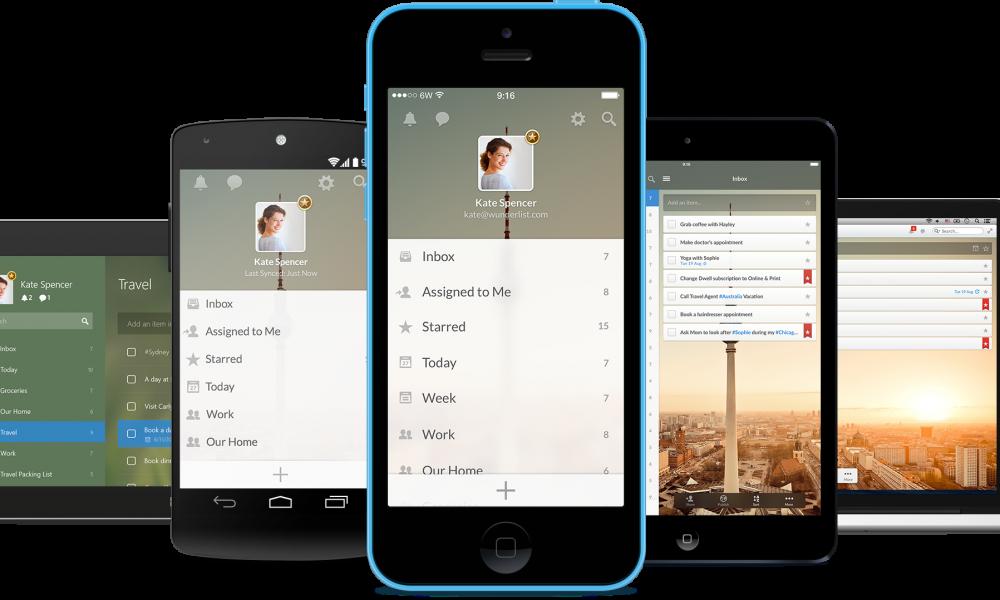 Microsoft compra Wunderlist, la app de gestión de tareas