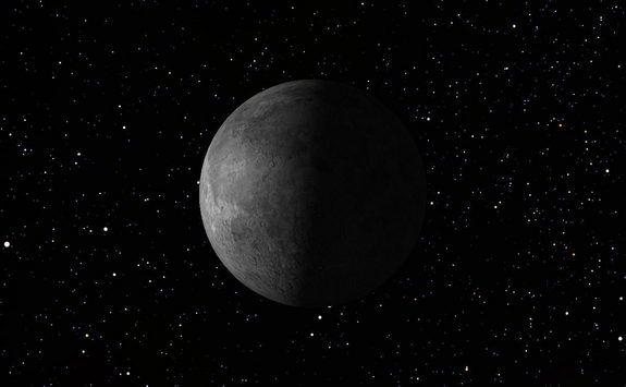 Last Quarter Moon, April 2013... This weekend will provide ...