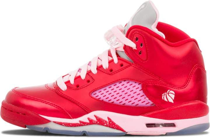 new styles 52f44 c7122 Jordan Girls Air 5 Retro (GS)  Valentine s Day  - Gym Red Ion Pink