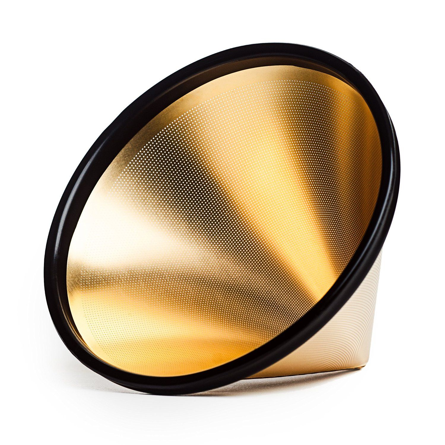 Amazon Able Brewing GOLD Kone Coffee Filter for Chemex Coffee