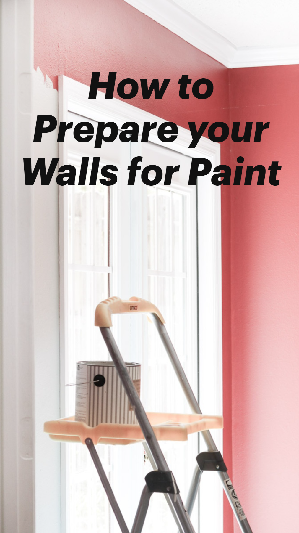 How to Prepare your Walls for Paint