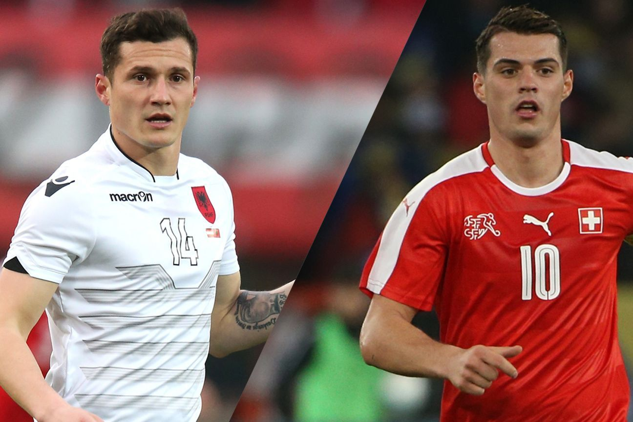 Taulant And Granit Xhaka Two Brothers Face Off In Switzerland Vs Albania