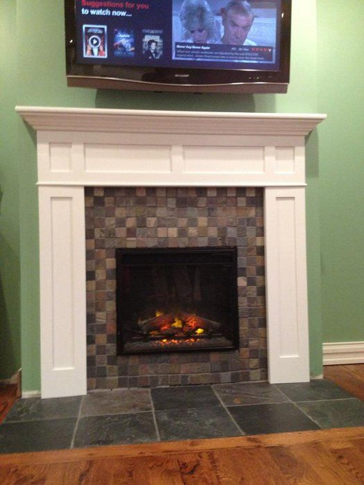 Shaker Fireplace Mantel For The Home Pinterest